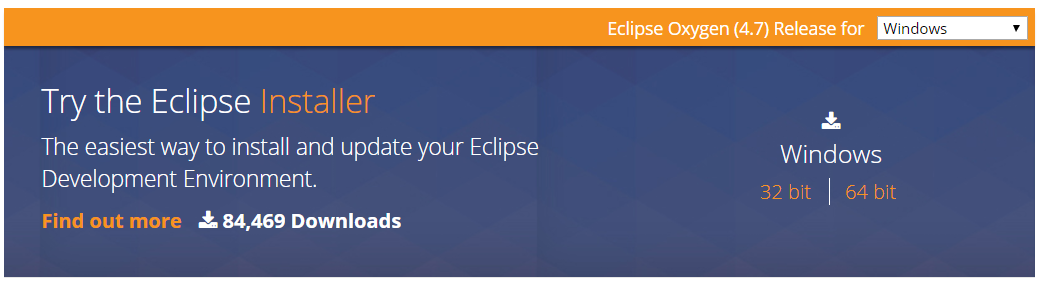 try the eclipse