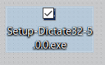 Dictate-install