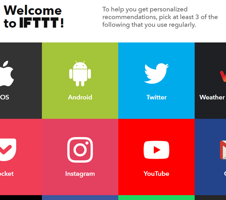 Welcome to IFTTT